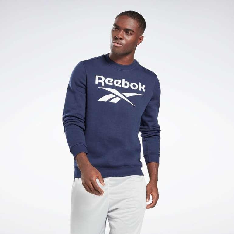 Reebok Identity Fleece Crew Sweatshirt in 6 Farben für je 35€ inkl. Versand (statt 43€)