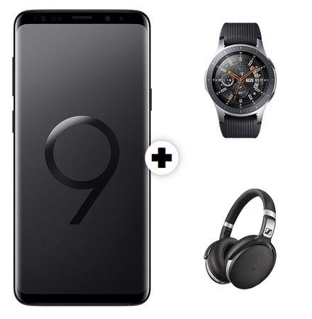 Vodafone AllNet mit 8GB + Galaxy S9(+) + Galaxy Watch +Sennheiser HD 31,99€ mtl.