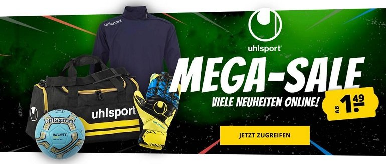 Uhlsport Sale bei SportSpar 3