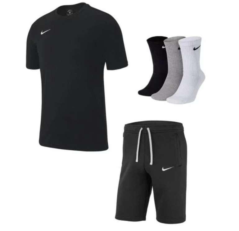 3-tlg. Nike Club 19 Freizeit Outfit (T-Shirt, Short, 3 Paar Socken) für 37,95€ inkl. Versand (statt 47€)