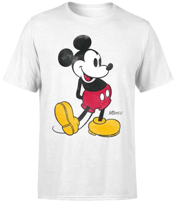 Disney Mickey Maus T-Shirt (Damen, Herren, Kinder) für 10,99€ inkl. Versand