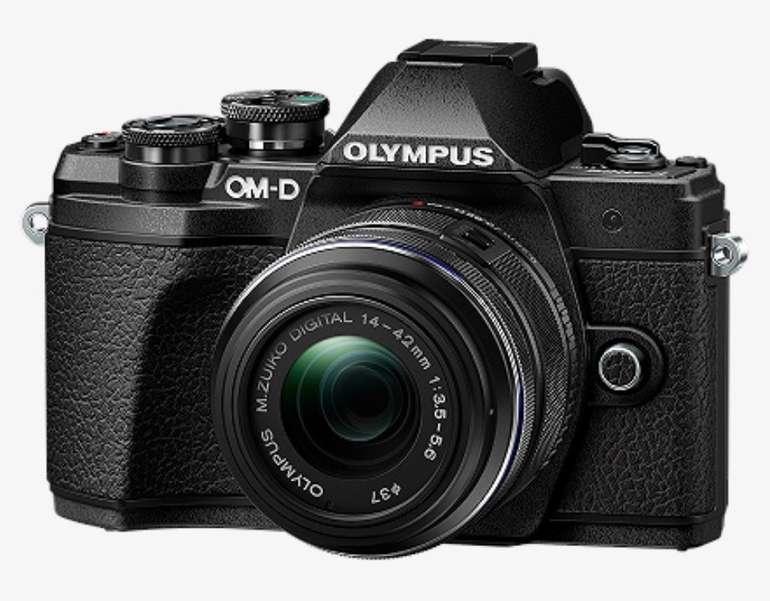 Olympus E-M10 Systemkamera Mark III Kit + M.Zuiko Digital 45mm F1.8 Objektiv für 444€ inkl. Versand