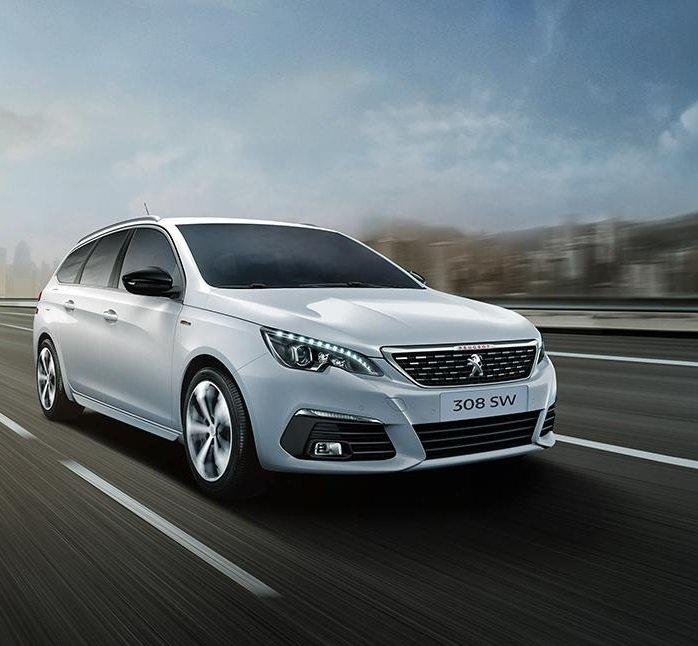 Gewerbe: Peugeot 308 SW Flatrate PureTech 130 für 109,32€ Netto mtl. leasen - inkl. Überführung!