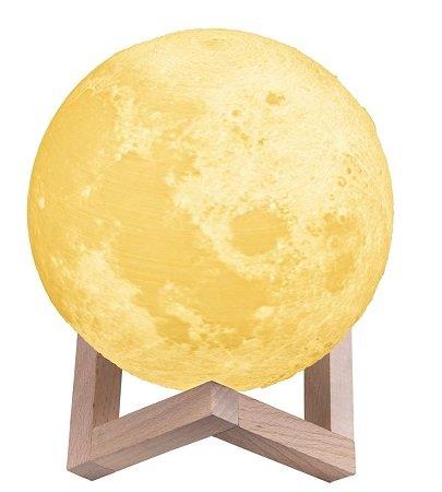 TaoTronics 3D Mond Lampe mit 15cm Durchmesser für 11,99€ inkl. Prime Versand