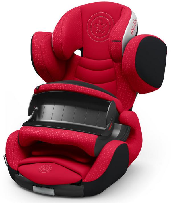 Kindersitz kiddy Phoenixfix 3 in rot / grün für 137,95€ inkl. VSK (statt 150€)