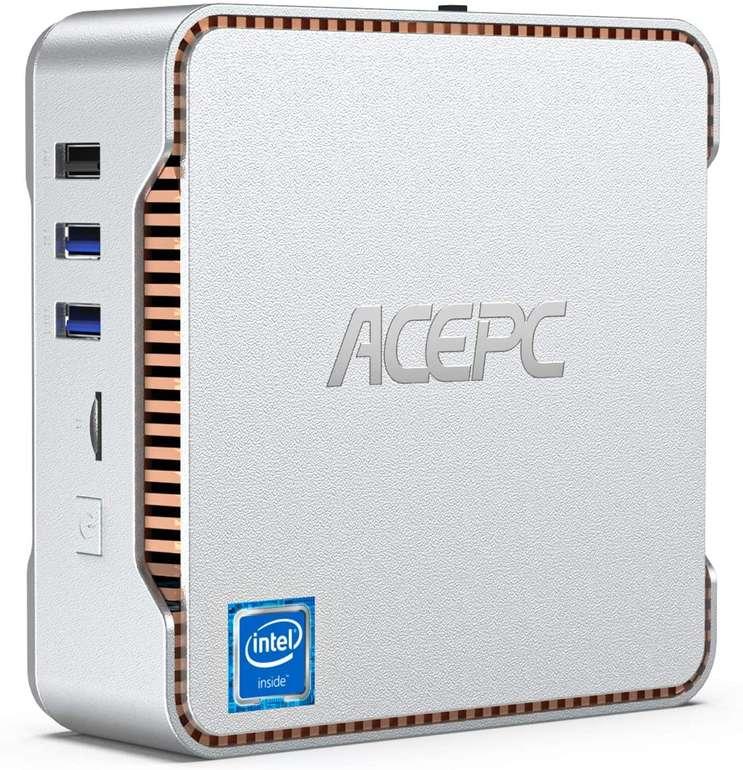 Acepc Mini PC (8GB+256GB, Intel Celeron J4125) für 188,99€ inkl. Versand (statt 270€)
