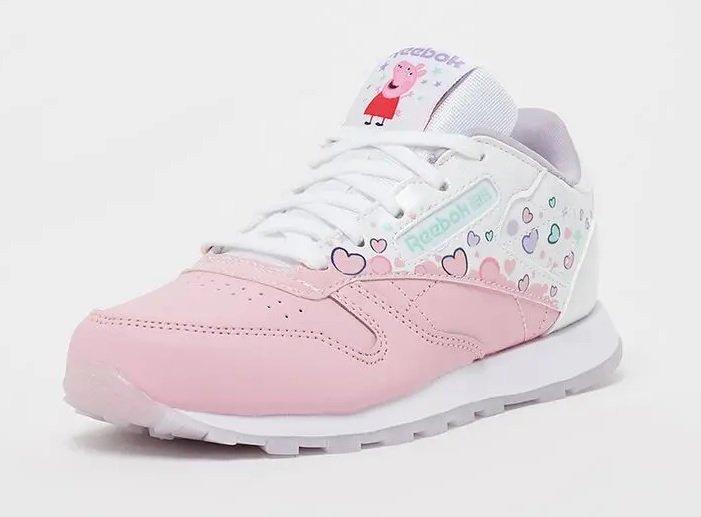 Reebok Classic Mädchen Leather Sneaker in Pink für 33,99€ inkl. Versand (statt 40€)