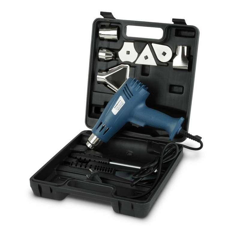 Eberth HG2-2000S Heißluftpistole im Koffer mit Zubehör für 9,90€ (statt 16€)