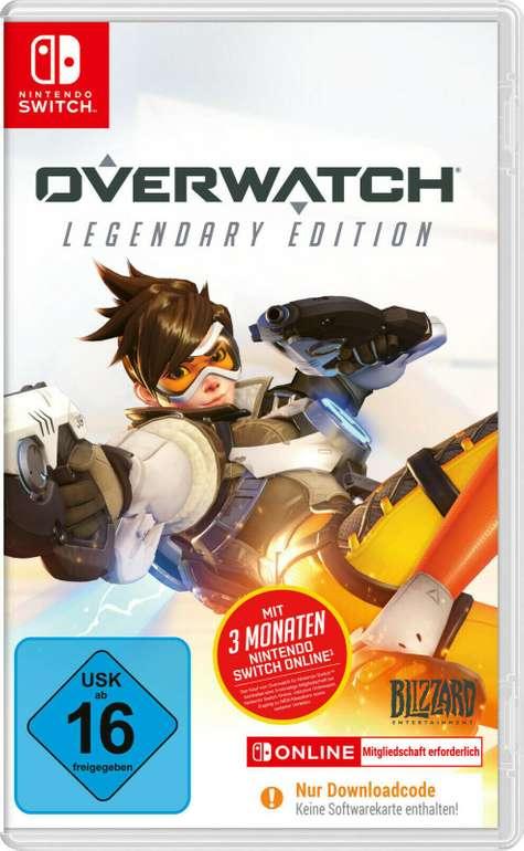 Overwatch Legendary Edition (Nintendo Switch) für 17,99€ inkl. Versand (statt 27€)