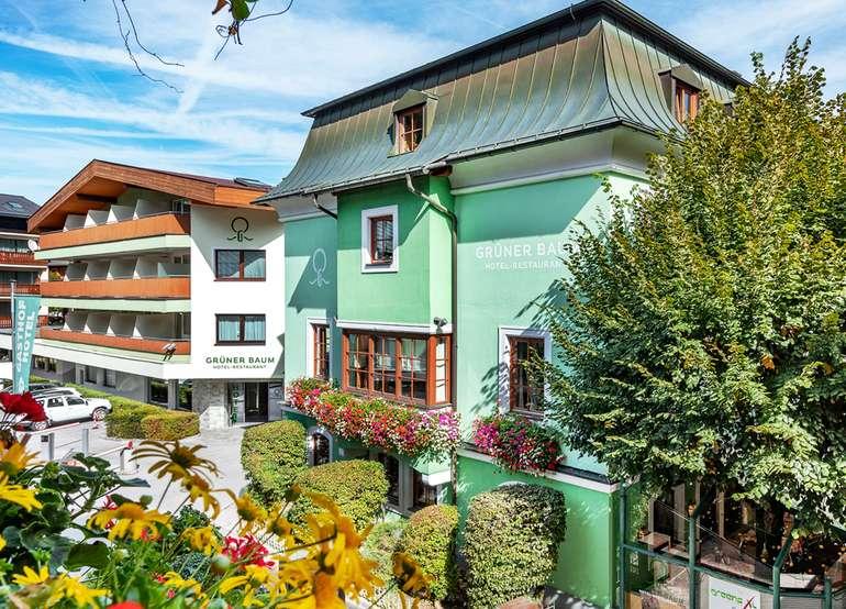 Zell am See: 2 ÜN im 4* Hotel Grüner Baum (Frühstück, 5-Gänge Menü, Prosecco) für 119€ p.P