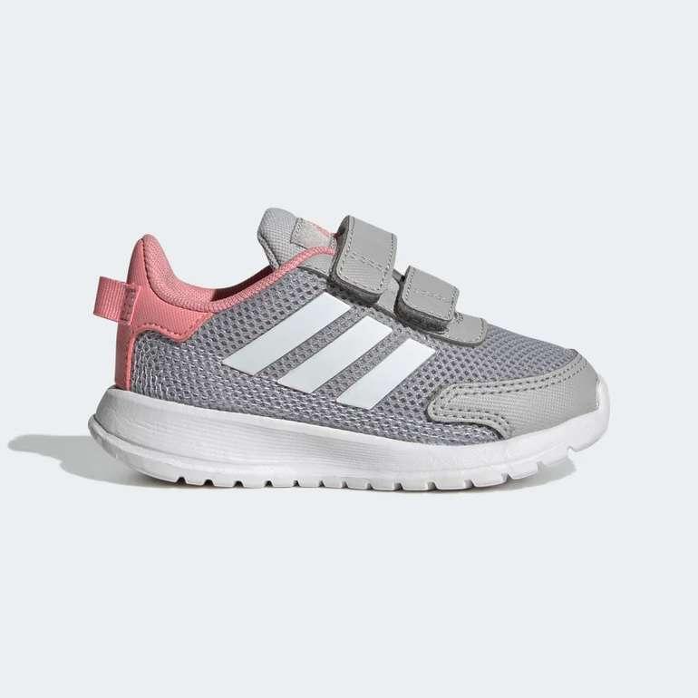 Adidas Tensaur Run I Kinder, Baby Schuhe in Grau-Rosa für 19,60€ inkl. Versand (statt 28€) - Creators Club!