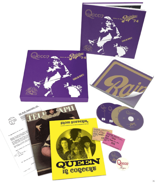 Queen – Live At The Rainbow (Limited Super Deluxe Boxset) für 79,99€ (statt 92€)