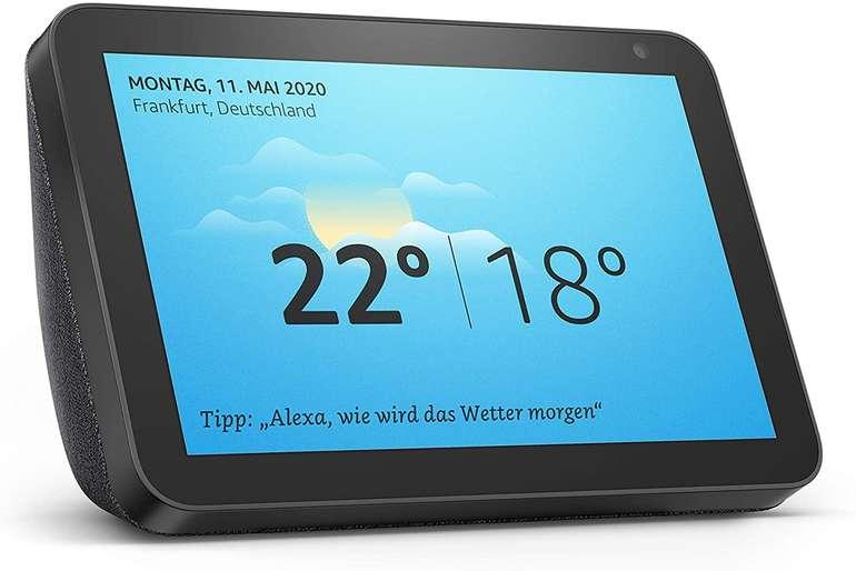 Amazon Echo Show 8 mit HD-Bildschirm + TP-Link Tapo P100 für 74,99€ inkl. Versand (statt 107€)