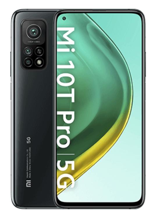 Xiaomi Mi 10T Pro 5G mit 128 GB (5,99€) + o2 Free M Boost mit 40 GB für 35,99€mtl.