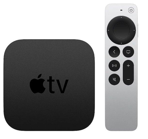 Apple TV 4K mit 32GB Speicher (2. Generation, 2021, MXGY2FD/A) für 174,90€ (statt 191€) - Newsletter Gutschein!