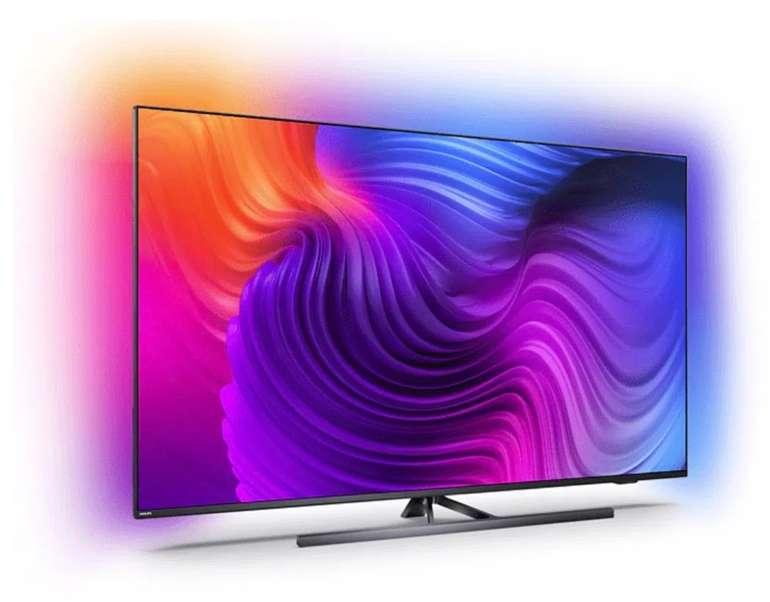 Philips 43PUS8546/12 – 43 Zoll 4K UHD Smart-TV mit 3-seitigem Ambilight für 654,49€ (statt 929€)