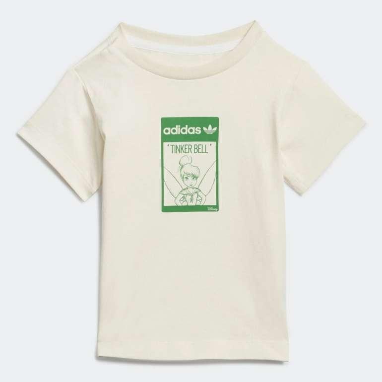 Adidas Tinkerbell Organic Cotton Kids T-Shirt für 10,20€ (statt 17€) - Creators Club