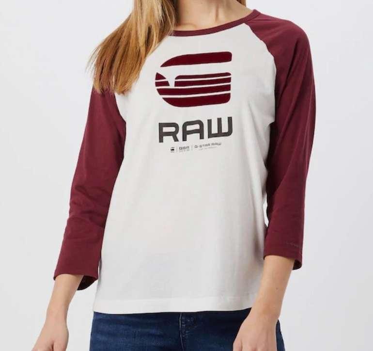 G-Star RAW Damen Shirt 'Graphic' für 15,71€ inkl. Versand (statt 29€)