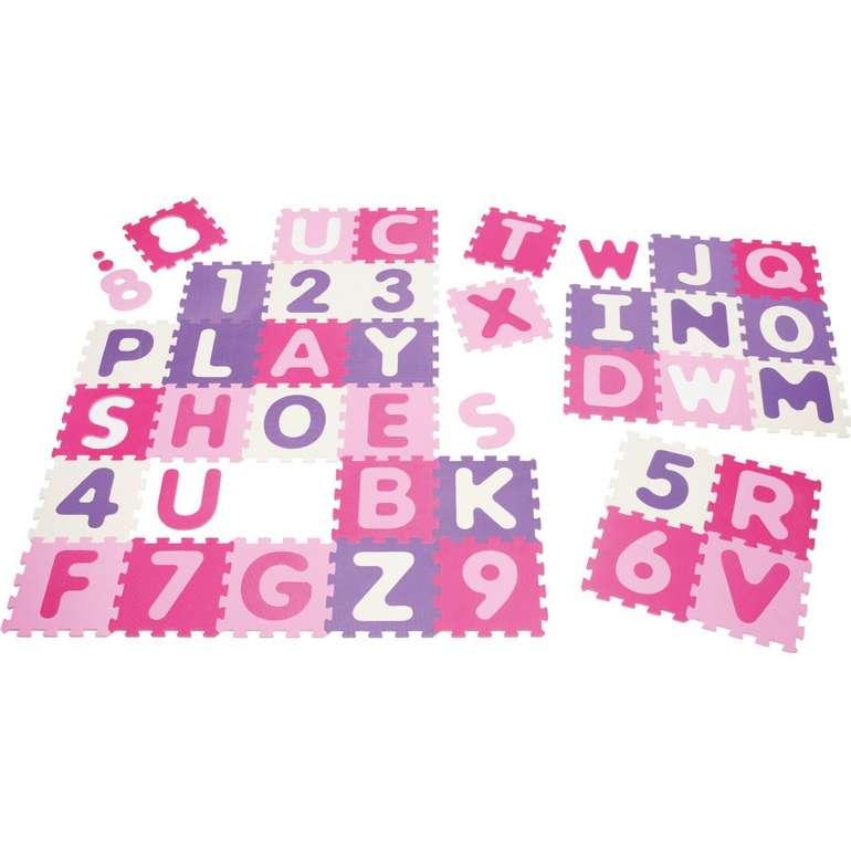 Playshoes EVA 36-teilige Puzzlematte in pink für 35,76€ inkl. Versand (statt 54€)