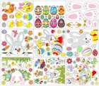 Naihen Fenstersticker - Ostern Set in vielen Varianten ab 4,39€ inkl. Prime Versand (statt 15€)