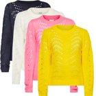 Noisy May Pullover mit Lochdetails in 4 Farben je 9,99€ inkl. VSK (statt 15€)
