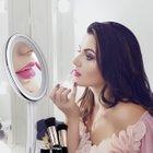 LiSmile LED-Kosmetikspiegel (10-fach Vergrößerung, Aufbewahrung) für 27,74€