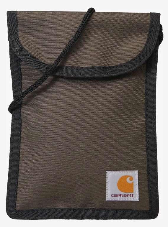 """Carhartt WIP Tasche """"Collins Neck Pouch"""" in braun für 11,90€ (statt 18€)"""