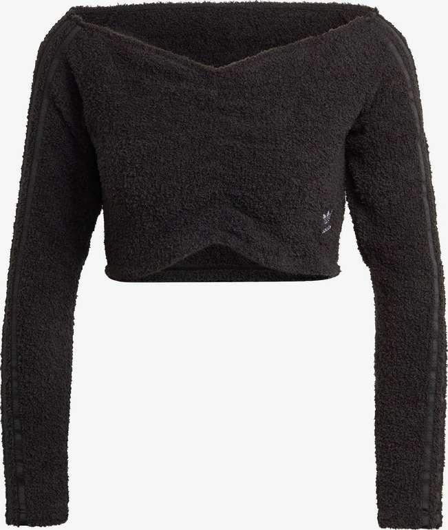 Adidas Originals Crop Top in Schwarz für 15,92€ inkl. Versand (statt 24€)