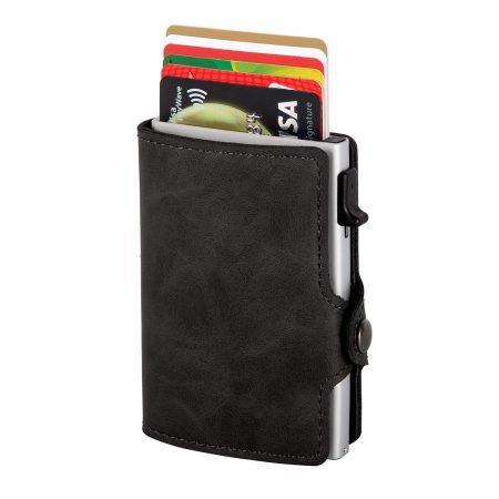 Lebexy Kreditkartenetui mit Geldklammer & RFID-Schutz für 10,59€ mit Prime