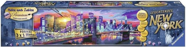 Ravensburger Malen nach Zahlen: Leuchtendes New York für 62,99€ inkl. Versand (statt 164€) - Newsletter!