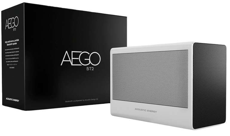 Acoustic Energy Aego BT2 Tragbarer Bluetooth Lautsprecher für 75,90€