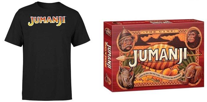 Jumanji Bundle (Brettspiel + T-Shirt) für 21,48€ inkl. VSK (statt 40€)