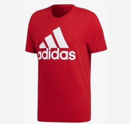 Riesen großer Adidas Sale für Kinder, Damen & Herren, z.B. Rotes T-Shirt 15€