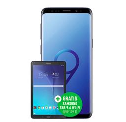 Blau Allnet XL mit 5GB LTE + Samsung S9 + Galaxy Tab E (79€) für 24,99€ mtl.