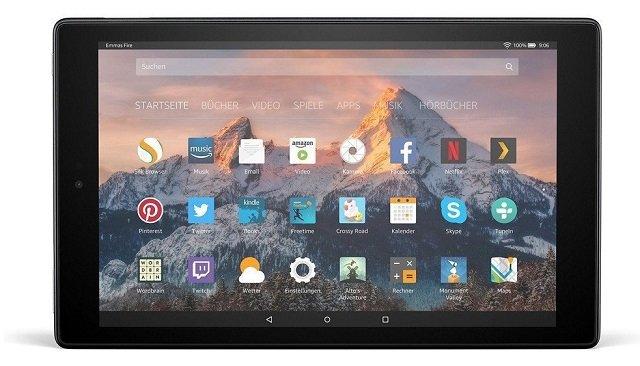 Amazon Fire HD 10 (Full HD, 32GB, WiFi) für 74,99€ inkl. VSK (statt 115€)