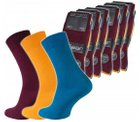 18er Pack Camano Strümpfe (mehrfarbig) für 9,99€ inkl. Versand