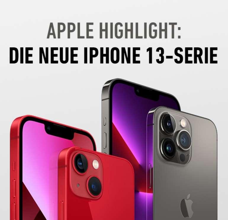 Apple iPhone 13 Angebote bei DeinHandy - z.B. Apple iPhone 13 mini (4,95€) + Vodafone Smart XL mit 40GB für 44,99€ mtl.