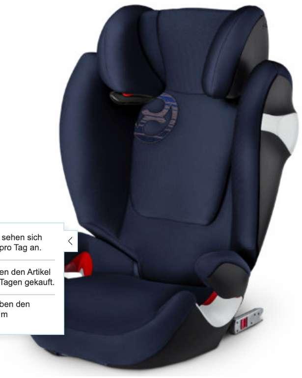 cybex Gold Kindersitz Solution M-fix in verschiedenen Farben für 119,99€ inkl. Versand (statt 169€)