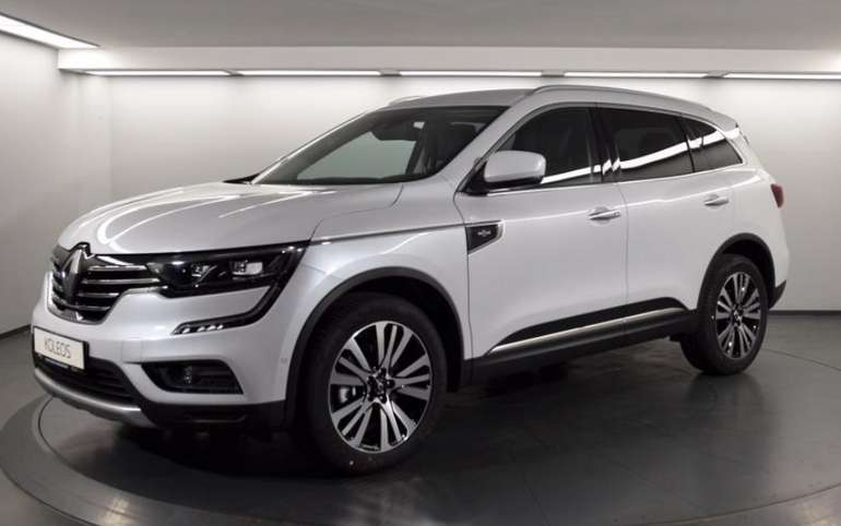 Gewerbeleasing: Renault Koleos mit 184 PS für 159,63€ netto mtl. (LF: 0.39, Überführung: 999€)