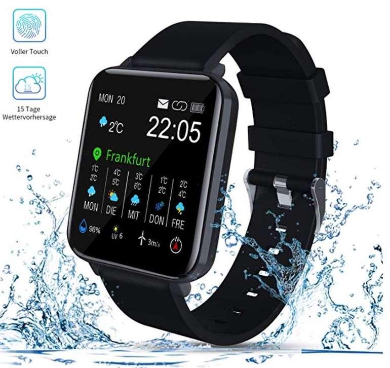 ZagZog Smartwatch mit 1,54'' Vollfarb-Touchscreen und GPS-Tracking für 24,49€ (statt 49€)