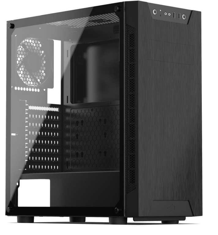 SilentiumPC Armis AR5 TG, Tower-Gehäuse mit Tempered Glass für 36,99€