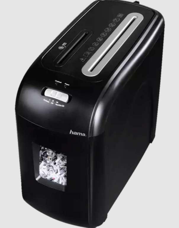 Hama Premium X11CD Aktenvernichter in Schwarz/Silber für 37,99€inkl. Versand (statt 60€)