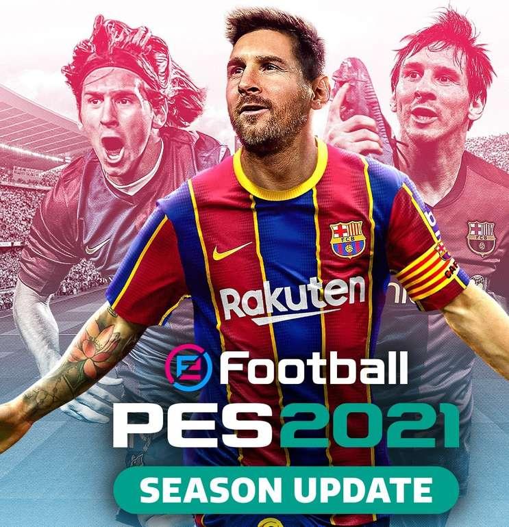 eFootball PES 2021 PC für 5,69€ inkl. Versand (statt 10€)