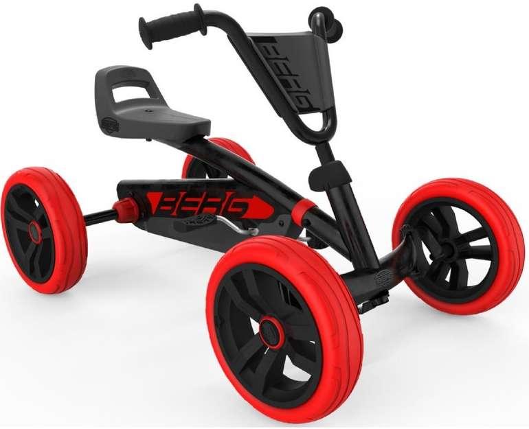 "Berg Pedal Go-Kart ""Buzzy Red Black"" (limitiertes Sondermodell) für 89,99€ inkl. Versand (statt 105€)"