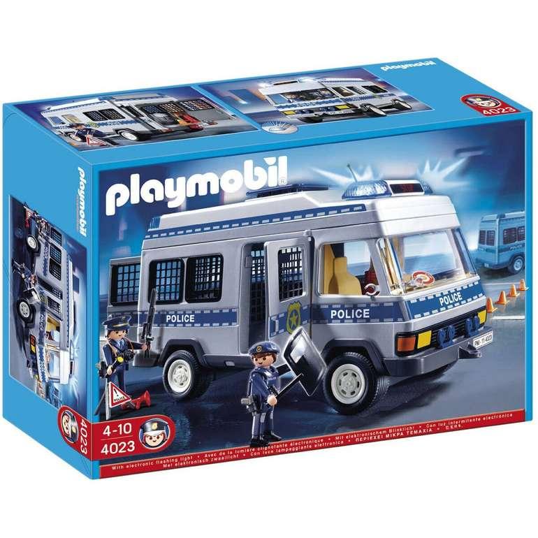 Playmobil City Action Polizei-Mannschaftswagen für 28,94€ inkl. Versand (statt 42€)