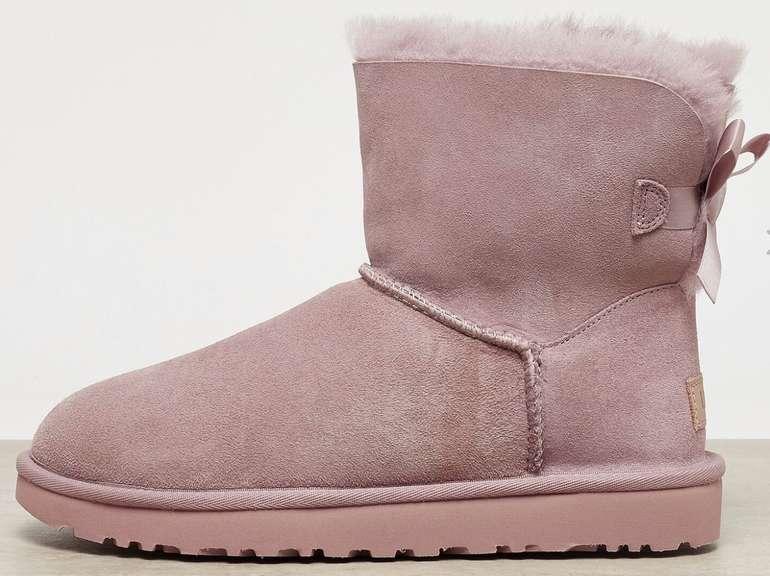 Onygo: 20% Rabatt auf UGG Damen Schuhe + VSKfrei - z.B. UGG Mini Bailey Bow in rose für 143,99€ (statt 180€)