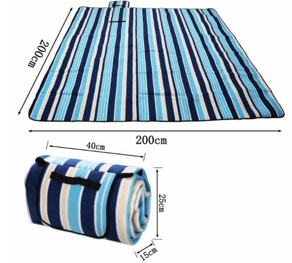 Wolketon Picknick-Decke (wasserfest, 200x200cm) für 10,49€ inkl. Prime Versand