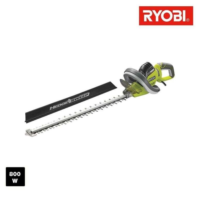 Ryobi Heckenschere RHT8065RL grün/schwarz, 800 Watt für 66,89€ inkl. Versand (statt 82€)