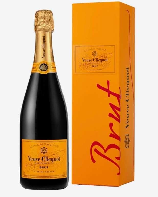 Veuve Clicquot Brut - 0.75 Liter mit Geschenkverpackung für 34,90€ inkl. Versand (statt 41€)