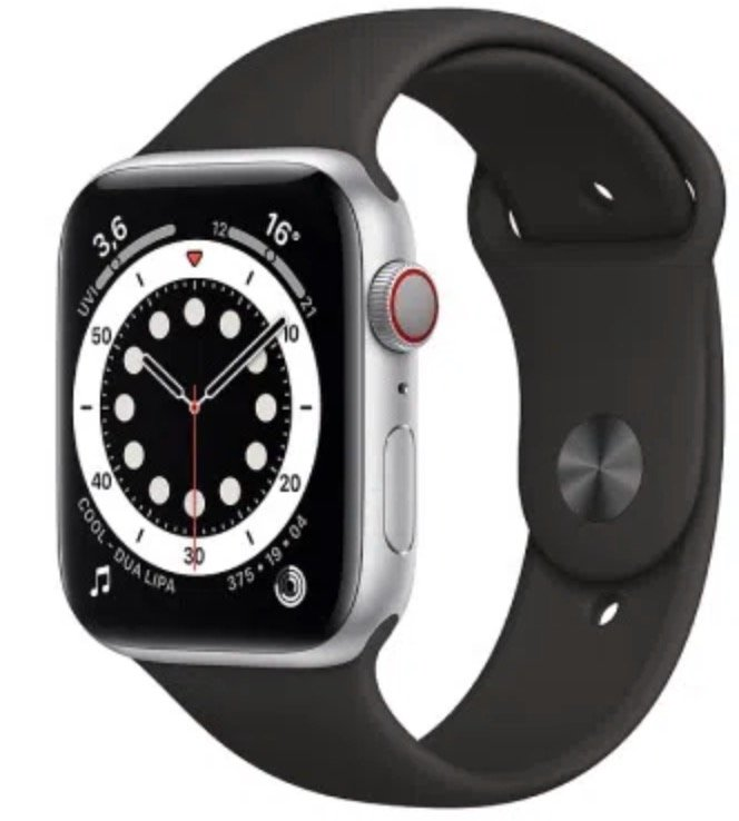 Apple Watch Series 6 (GPS + LTE) in 44mm (1€) + Telekom Allnet Flat mit 18GB LTE für 34,99€ mtl.
